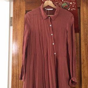 Zara asymmetrical tunic